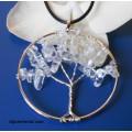 "Медальон ""Дърво на живота"" - планински кристал"