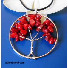 Медальон Дърво на живота-корал