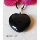 Висулка - сърце от оникс