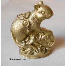 Мишка върху монети